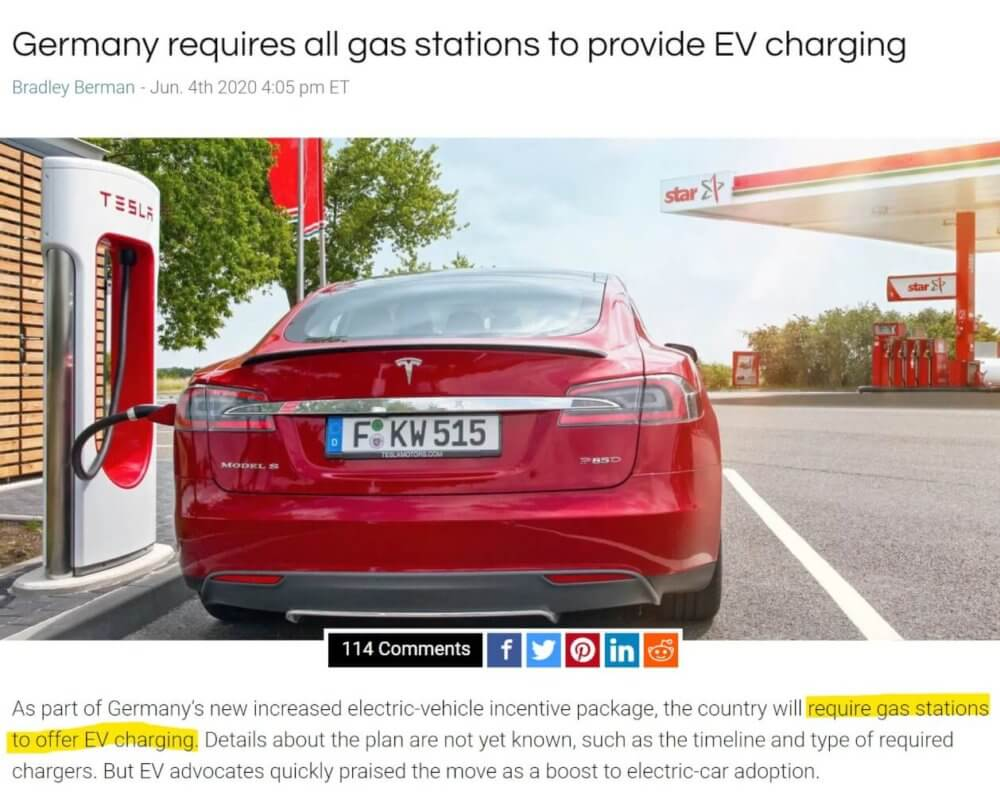 germany EV charger